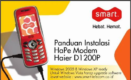 Download Driver Modem Smart D1200P! -