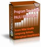 Program Psikotes Pauli Kraepelin Koran