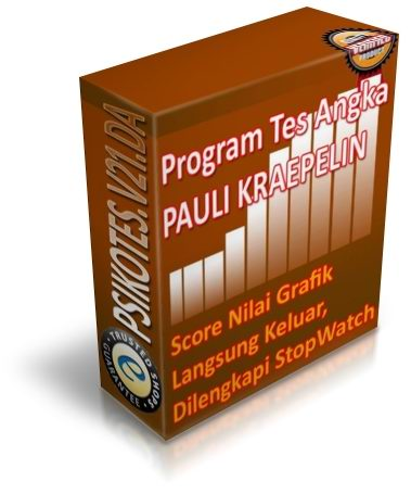 Exclusive Package aplikasi pauli kraepelin