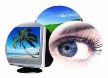 Cara mengatasi dampak radiasi lcd crt komputer pada kesehatan mata