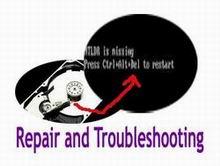 repair file ntldr is missing